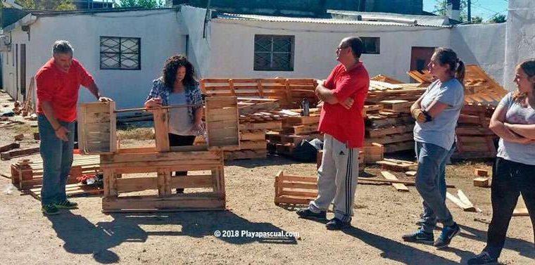 Curso de fabricación de muebles con pallets